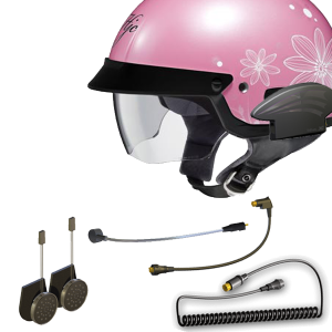 3G Headset for Half/Shorty Helmets