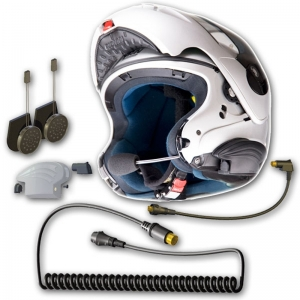 3G Headset for Modular/Convertible Helmets
