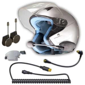 3G Headset for 3/4 Open face helmets